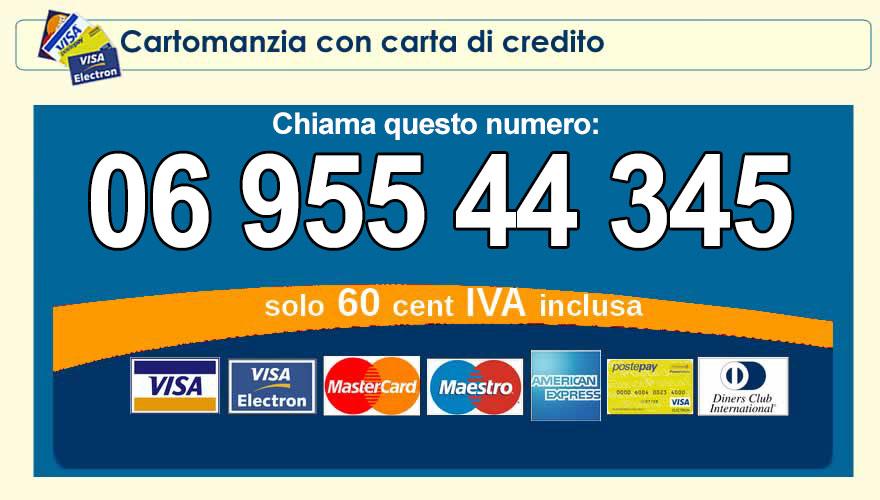 cartomanzia a basso costo con carta di credito